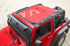 Rugged Ridge 13579.26 Eclipse Sun Shade; Red; 2-Door; 07-17 Jeep Wrangler JK