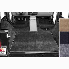 Rugged Ridge 13690.01 Deluxe Carpet Kit, Black