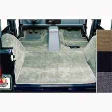Rugged Ridge 13690.10 Deluxe Carpet Kit, Honey