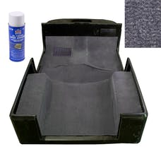 Rugged Ridge 13696.09 Deluxe Carpet Kit with Adhesive, Gray