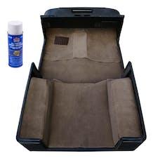 Rugged Ridge 13696.10 Deluxe Carpet Kit with Adhesive, Honey