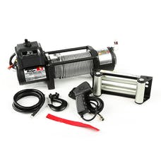Rugged Ridge 15100.30 Spartacus Heavy Duty Winch; Steel Cable; 8500 lbs
