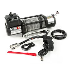 Rugged Ridge 15100.31 Spartacus Performance Winch; Synthetic Rope; 8500 lbs