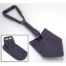 Rugged Ridge 15104.42 Heavy Duty Tri-Fold Recovery Shovel; Multi-use for Offroad