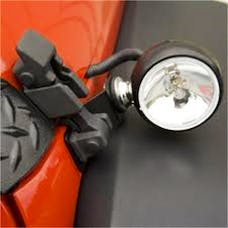 Rugged Ridge 15207.72 Off Road Fog Light; Spare for Hood-Mounted Kits; 3 Inch; 100 Watt