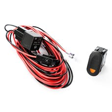 Rugged Ridge 15210.74 Light Wiring Harness Kit; 1 Light; Amber Switch