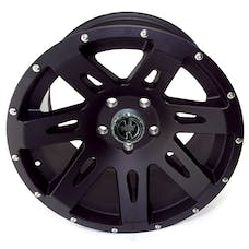 Rugged Ridge 15301.01 XHD Wheel, 17x9, Black Satin