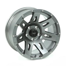 Rugged Ridge 15301.30 XHD Wheel, 17x9, Gun Metal
