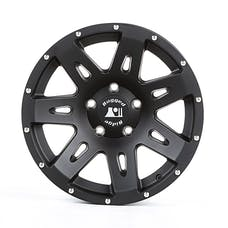 Rugged Ridge 15301.60 XHD Wheel; Black Satin; 17x8.5; 07-17 JK/JKU