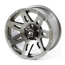 Rugged Ridge 15301.61 XHD Wheel; Gun Metal; 17x8.5; 07-17 JK/JKU