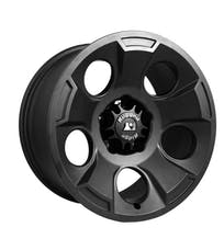 Rugged Ridge 15302.01 Drakon Wheel; 17x9; Black Satin; 07-17 Jeep Wrangler JK