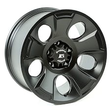 Rugged Ridge 15302.02 Drakon Wheel; 18x9; Black Satin; 07-17 Jeep Wrangler JK