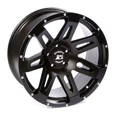 Rugged Ridge 15306.01 XHD Wheel; 20x9; Black Satin; 07-17 Jeep Wrangler JK