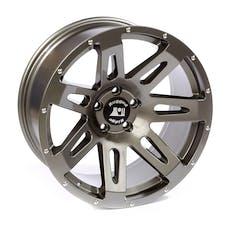 Rugged Ridge 15306.02 XHD Wheel; 20x9; Gun Metal; 07-17 Jeep Wrangler JK