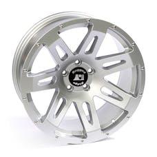 Rugged Ridge 15306.03 XHD Wheel; 20x9; Silver; 07-17 Jeep Wrangler JK