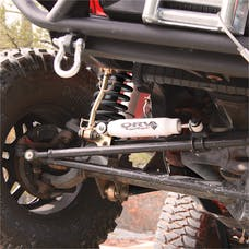 Rugged Ridge 18475.03 Steering Stabilizer; 07-17 Jeep Wrangler JK