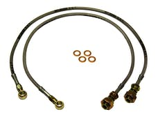 Skyjacker FBL28 Stainless Steel Brake Line Front