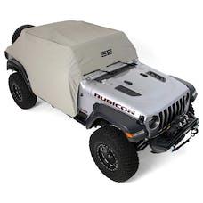 Smittybilt 1071 JL Cab Cover gray w/door flaps 4-Door