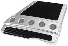 Spectre Performance 42721 Air Box Cover; Circular Design; GM Chrome
