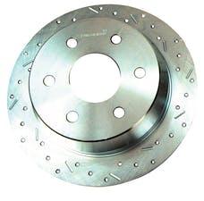 Stainless Steel Brakes 23176AA3R rtr drld sltd zp rr 2004-07 F150 rh