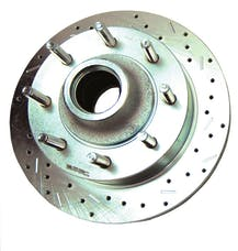 Stainless Steel Brakes 23534AA3R rtr drld sltd zp frnt 2000-05 Excursion 2WD w/all wheel ABS rh