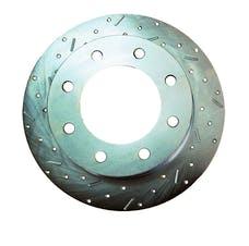 Stainless Steel Brakes 23538AA3L rtr drld sltd zp frnt 1999-00 F250/350 4WD lh