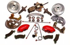 Stainless Steel Brakes A123-1A SuperTwin 2-piston conv64+GM power