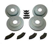 Stainless Steel Brakes A2351030 Short Stop 4 Wheel Kit 07-09 Avalanche; Tahoe
