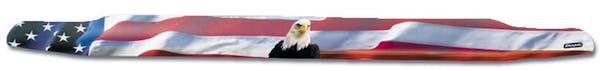 Stampede Automotive Accessories 2019-30 Hood Shield Vigilante Premium Flag with Eagle