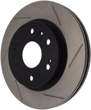 StopTech 126.66057SR Sport Slotted Rotor, Right