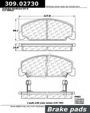 StopTech 309.02730 Performance Brake Pads