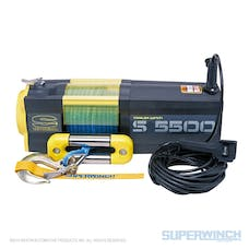 Superwinch 1455201 S5500 Winch Synthetic