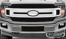 T-Rex Grilles 25571B Billet Bumper Grille, Black, Aluminum, 1 Pc, Overlay