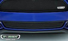 T-Rex Grilles 52530 Upper Class Bumper Grille, Black, Mild Steel, 1 Pc, Overlay