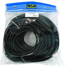 Taylor Cable Products 38000 Black Convoluted Tubing Assortment
