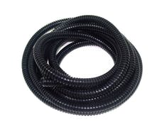 Taylor Cable Products 38094 1/4in Convoluted Tubing 50ft black