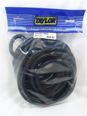 Taylor Cable Products 38100 3/8in Convoluted Tubing 25ft black