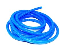 Taylor Cable Products 38262 1/4in Convoluted Tubing 50ft blue