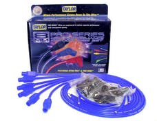 Taylor Cable Products 73645 8mm Spiro-Pro univ 6 cyl 180 blue