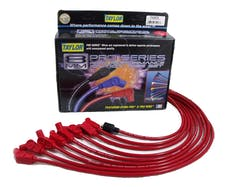 Taylor Cable Products 74203 8mm Spiro-Pro custom 8 cyl red