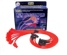 Taylor Cable Products 74206 8mm Spiro-Pro custom 8 cyl red