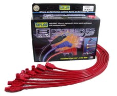 Taylor Cable Products 74207 8mm Spiro-Pro custom 8 cyl red