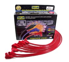 Taylor Cable Products 74217 8mm Spiro-Pro custom 8 cyl red
