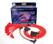 Taylor Cable Products 74228 8mm Spiro-Pro custom 8 cyl red