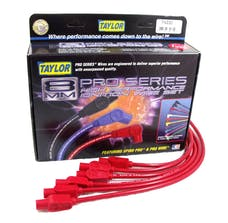 Taylor Cable Products 74230 8mm Spiro-Pro custom 6 cyl red