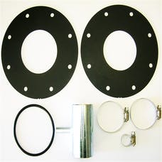 TITAN Fuel Tanks 0199003 LB7 Adaption Kit Includes two heavy gauge metal flanges and one O-ring