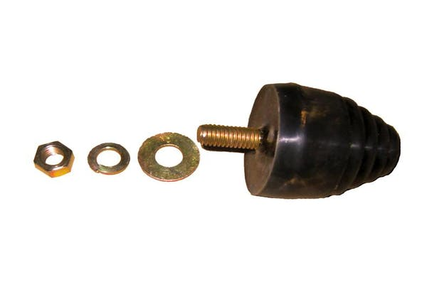 TITAN Fuel Tanks 0299001 Ford Adaption Kit, TITAN Fuel Tank cushion mount with nut and washers included