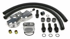Trans Dapt Performance 3383 Dual Oil Filter Relocation Kit