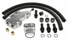Trans Dapt Performance 3385 Dual Oil Filter Relocation Kit