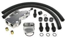 Trans Dapt Performance 3387 Dual Oil Filter Relocation Kit